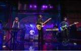 Performing 'Jejune Stars' on the Late Show with David Letterman