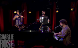'Till St. Dymphna Kicks Us Out' live on Charlie Rose