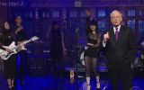 Rimbaud Eyes on Late Night with David Letterman