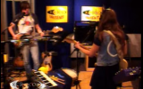 Performing 'Just One of the Guys' on KCRW