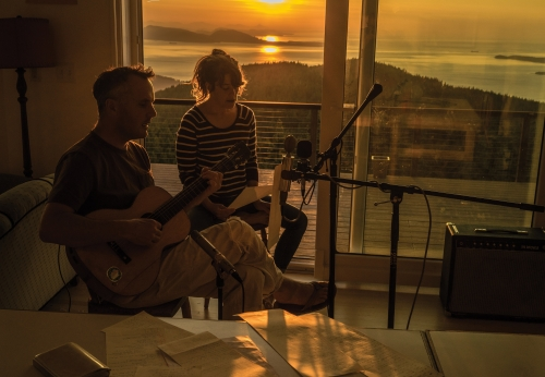 Mount eerie and julie doiron1 by rin-san jeff miller1