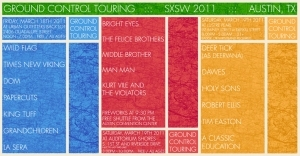 Ground Control Touring at SXSW 2011