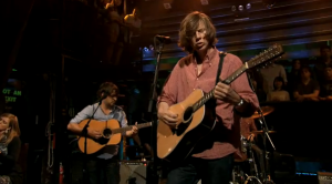 Thurston Moore on Late Night with Jimmy Fallon