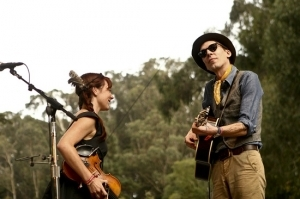 Ground Control Touring Artists Play at San Francisco's Hardly Strictly Bluegrass Festival