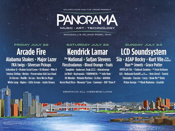 Panorama line up incl. Kurt Vile and the Violators, The Julie Ruin, Here We Go Magic & more…