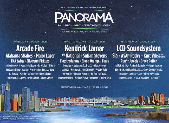 Panorama line up incl. Kurt Vile and the Violators, The Julie Ruin, Here We Go Magic & more…