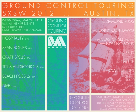 Ground Control Touring at SXSW