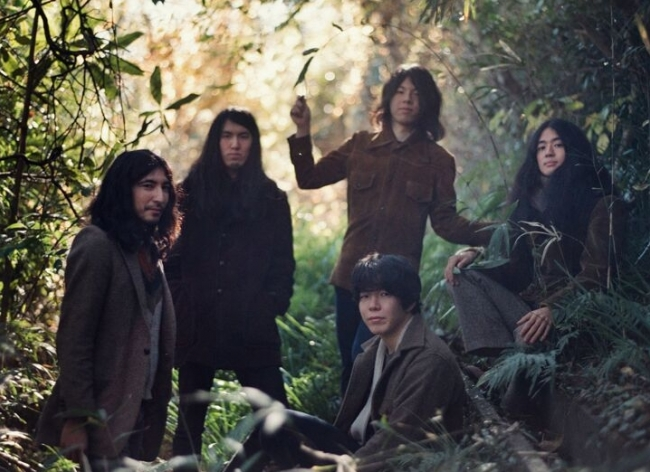 We're now working with Japanese Psych-Rockers, Kikagaku Moyo