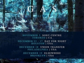 GAS Announces Live Return to North America