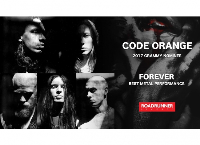 Code Orange Nominated for Best Metal Performance at 60th Annual Grammy Awards