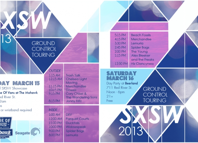 Ground Control Touring at SXSW 2013