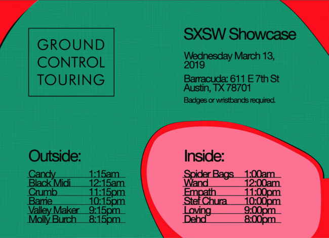 We're hosting our official SXSW showcase on Wed, 3/13 at Barracuda!